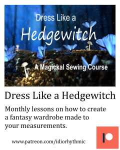 Dress LIke a Hedgewitch Patreon Ad