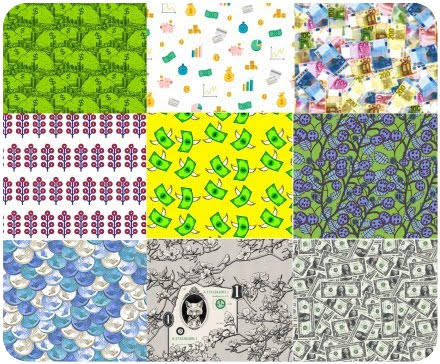 Fabric Magic: 9 Designs from Spoonflower for Money Spells