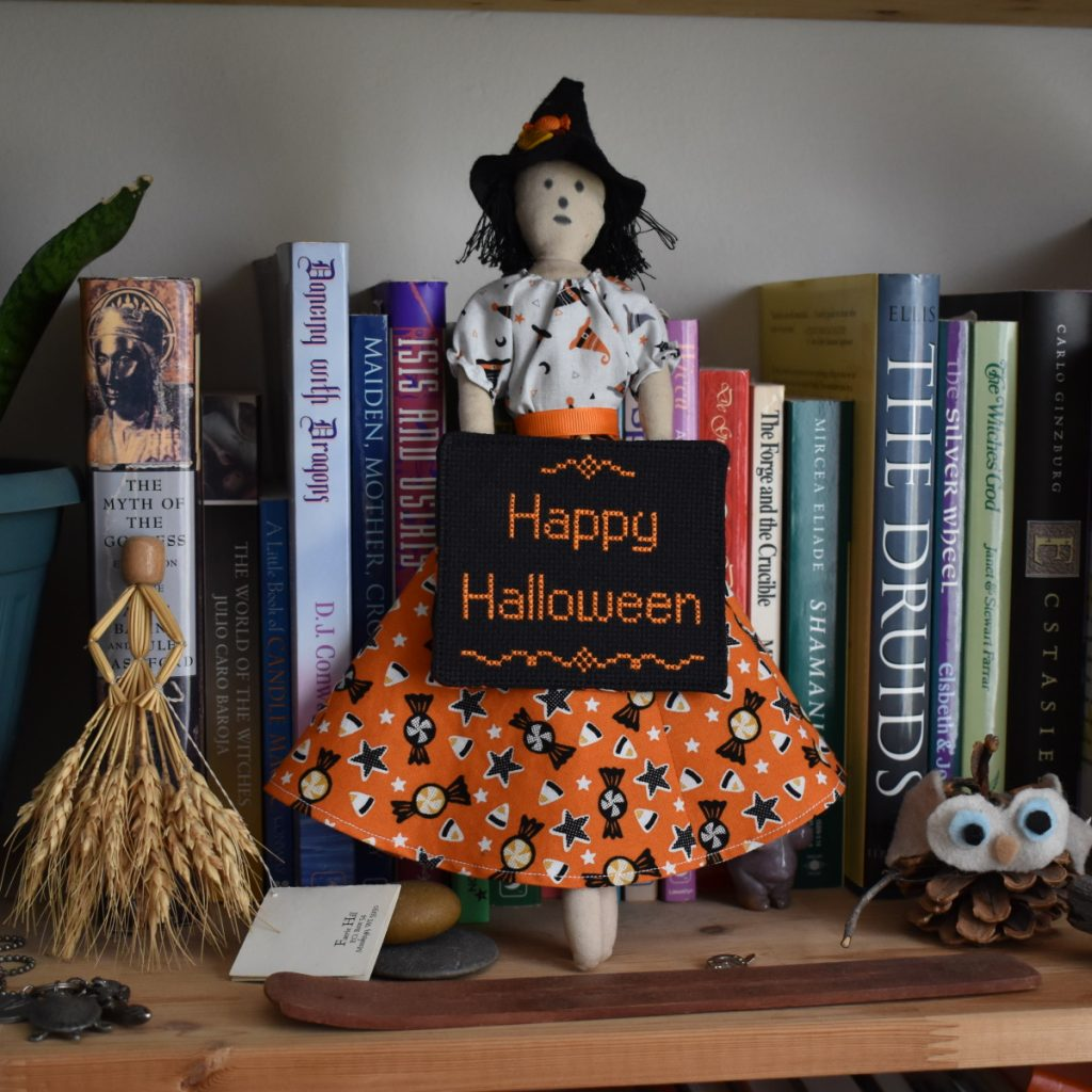 Dressing Millicent, the Halloween Witch Header Image